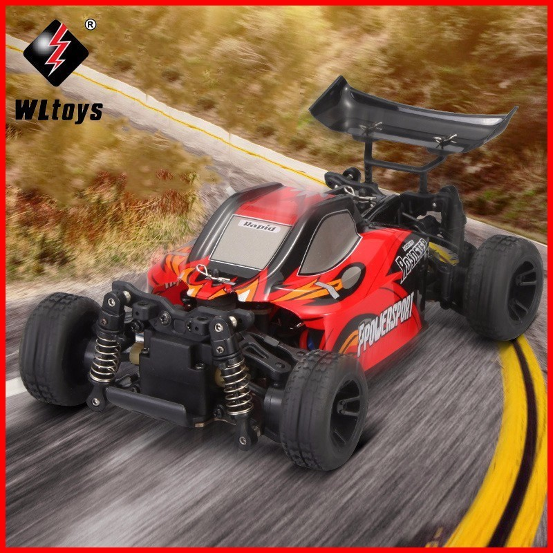 WLtoys A202 A212 1/24 2,4 г электрической щеткой 4WD ртр RC автомобиль Внедорожные багги РТР