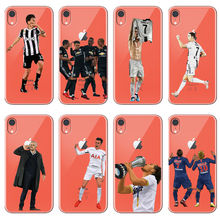 636ed1d32309 Paulo Dybala Neymar Paul pogba Football jersey soft silicone TPU phone  cover for iPhone MAX XR