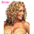 Sexy Cheap Wigs Peruca Cosplay Melanie Martinez Long Kinky Curly Wig Blonde Hair Wigs Perruque Afro Peruca Sintetica Perruques