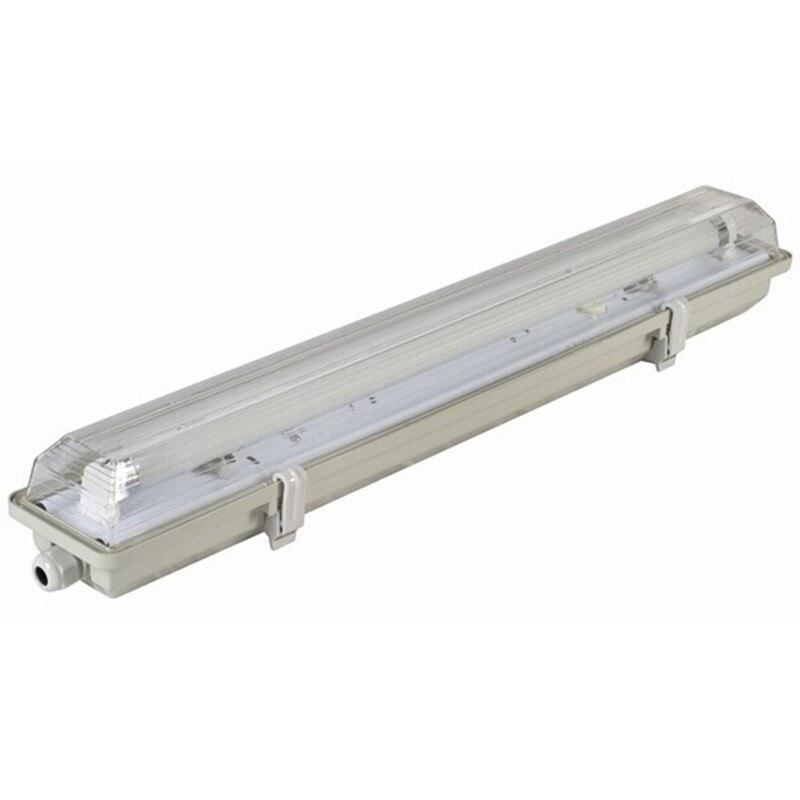 En gros 2 pieds (0.6 M) 10 watts lentille givrée LED Tube lumière avec luminaire Tri-preuve AC100-245V blanc chaud LED Tri-preuve lumière