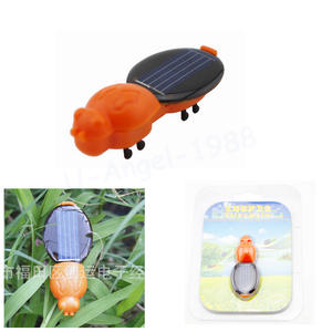 1pcs Power Solar Energy Solar Worm Children Insect Bug Teaching Fun Gift for Kid Wholesale