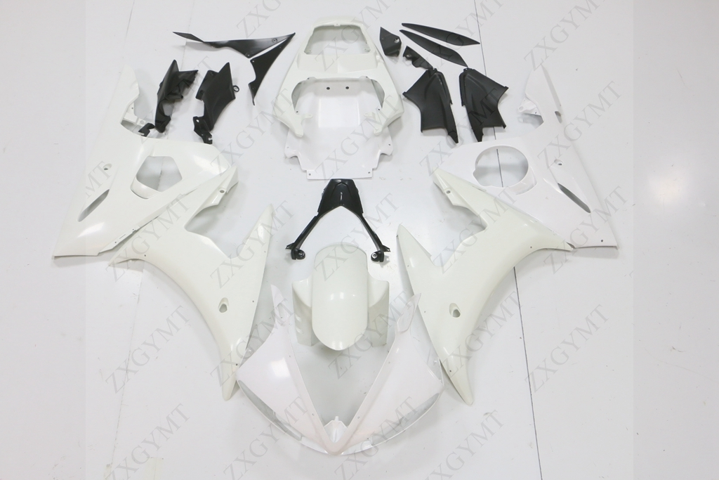 Обтекатель Средства ухода за кожей комплект Средства ухода за кожей работы для Yamaha YZFR6 YZF R6 YZF-R6 YZF600 600 cc 2003 2004 2005 03 04 05 неокрашенной Пользовате...