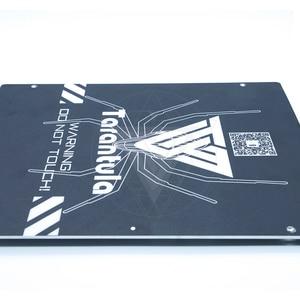 Image 4 - 3D מדפסת חלקי אלומיניום מחומם מיטה עבור TEVO טרנטולה מחומם מיטה 220*220mm & 200*280 אלומיניום צלחת המיטה/pc סרט/לבנות