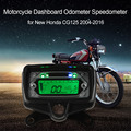 LCD Digital Backlight Motorcycle Dashboard Odometer Speedometer Tachometer Gauge for New Honda CG125 2004-2016