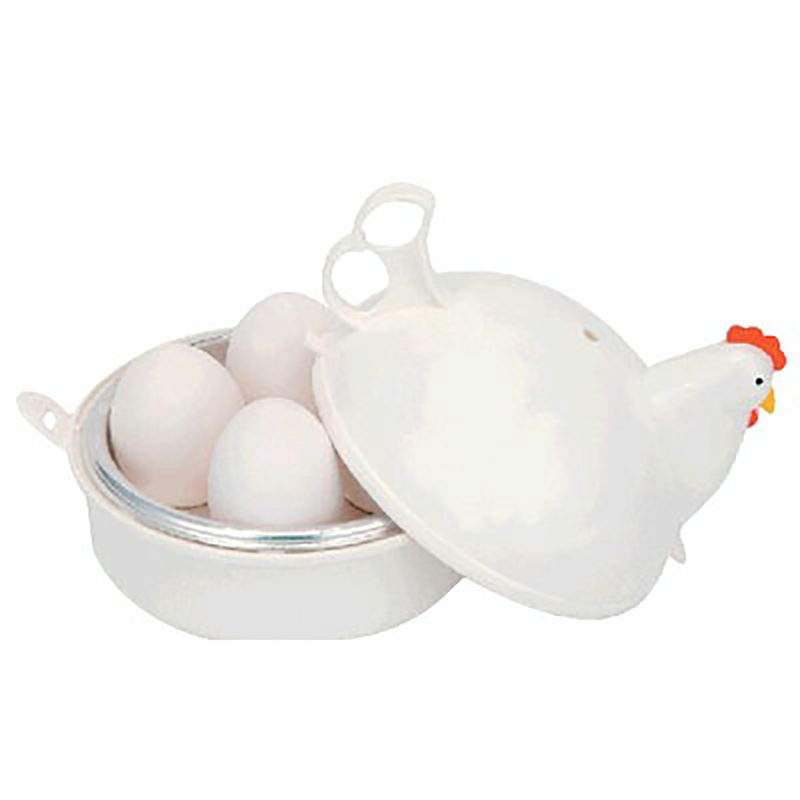 Chicken Shaped Microwave Eggs Boiler Cooker Kitchen Cooking Appliances Home Tool Egg Boilers     - title=