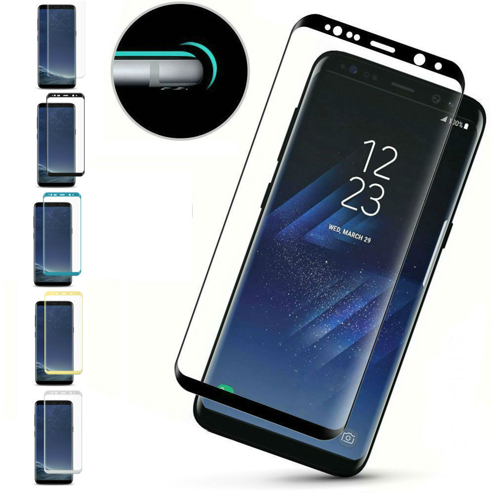 Top quality 4D Curved Tempered Glass For Samsung Galaxy S9 S9 Plus S9+ Phone Protective Film Scratch Proof Glass