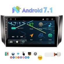 Eincar 2din 10.1″Car Stereo for SYLPHY Android 7.1 Support GPS Navigation,SWC,Mirror Link,Bluetooth,USB SD,FM/AM Radio+3G Dongle