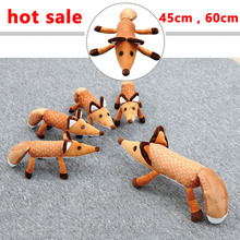 1pcs 45cm/60cm The Little Prince Plush Dolls  The Fox Stuffed Animals Plush Education Toys Gift For Kid Birthday Xmas Gift