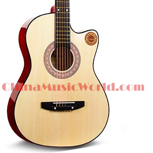 38 inch Acoustic/ Basswood plywood Top, Back & Sides/ Maple Neck/ Rosewood fretboard/ AFATNI acoustic guitar(ACM-157)