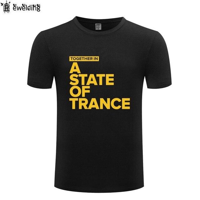 8934073005 US $9.96 32% OFF|Together In A State of Trance Men T Shirt Armin Van Buuren  Hip Hop T Shirts Men Cotton Short Sleeve Streetwear Tee Shirt Homme-in ...