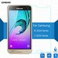 Для Samsung Galaxy A3 A5 A7 J1 J3 J5 J7 2016 Закаленное стекло-Экран Протектор 2.5 9 h Безопасности Защитную Пленку на A310F A510F A710F