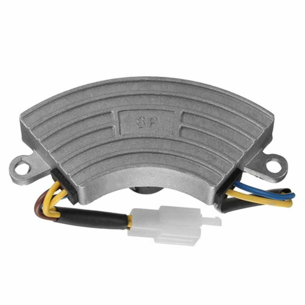 3.5-5000W Single Phase Generator Petrol Automatic Voltage Regulator AVR Rectifier With Aluminum Shell Quality