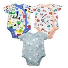3pcs/lot Baby rompers 100% Cotton Infant Newborn Ba