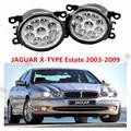 Para JAGUAR X-TYPE Estate 2003-2009 amortecedor dianteiro LED de alto brilho luzes de nevoeiro luzes de NEVOEIRO Carro styling branco 1 conjunto OE 620639