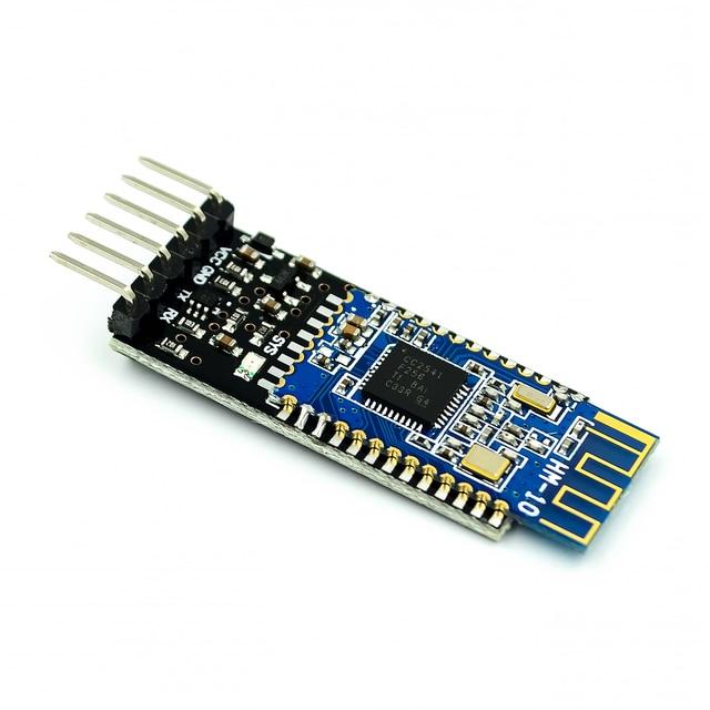 1pc HM 10 przezroczysty port szeregowy moduł Bluetooth 4.0 z tłumaczem poziomu logicznego