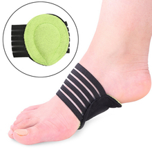 2 pcs/lot Correct Flat Foot Arch Support Orthopedic Insoles