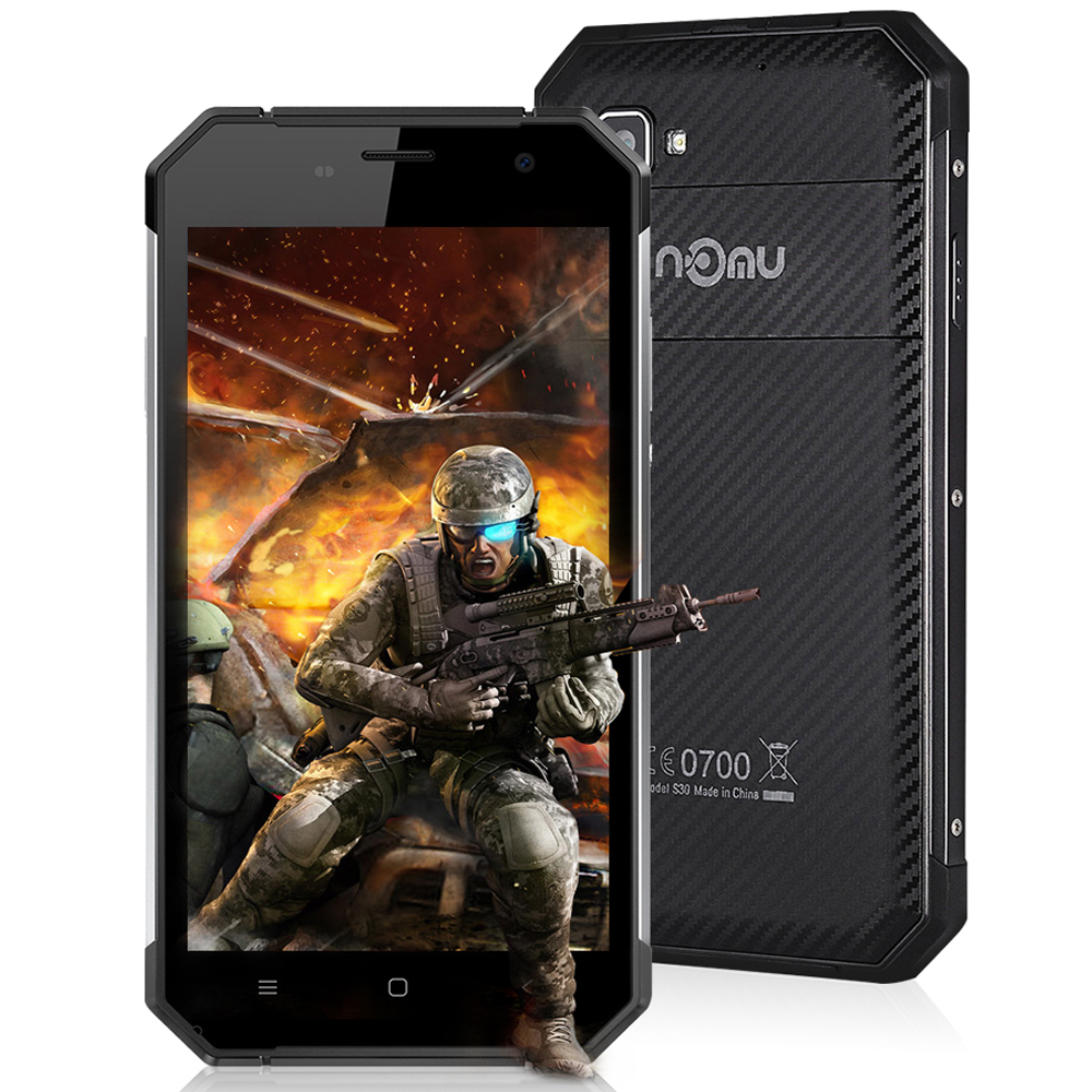 Nomu S30 Android 6 0 Smartphone 5 5 Inch 4G Phablet MTK6755 2 0GHz Octa Core