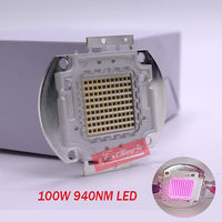 New 100W 940nm IR 16 18V 3.15A Infrared Emitter Light Lamp For Night Vision Camera