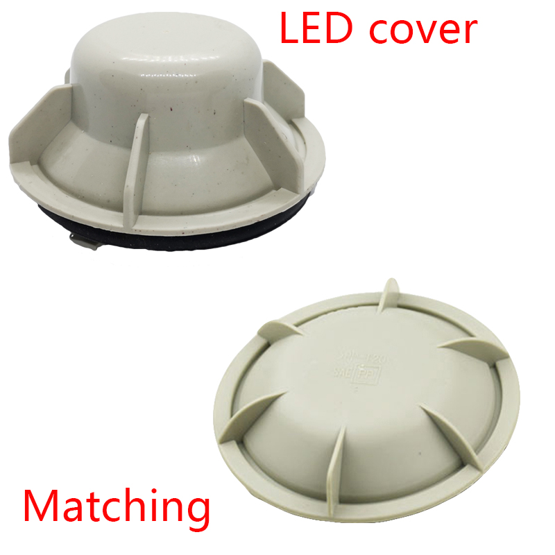 Image 4 - 1piece LED dust csps extendedhid dustproof cover pvc Hard material headlamp waterproof dustproof for Highlander High lamp H9-in Car Light Accessories from Automobiles & Motorcycles