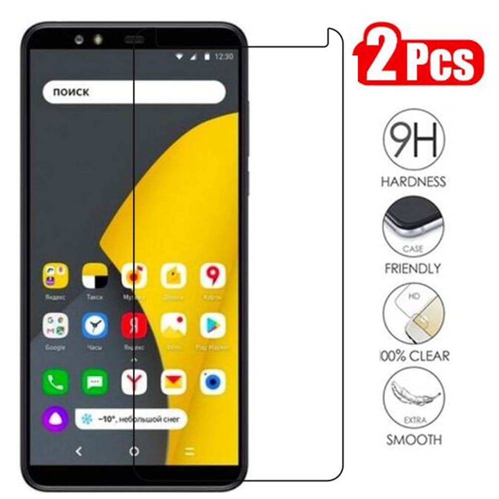 Tempered Glass For Yandex Smartphone Screen Protector 9H 2.5D Phone On Protective Glass On The For Yandex Smartphone Glass-in Phone Screen Protectors from Cellphones & Telecommunications