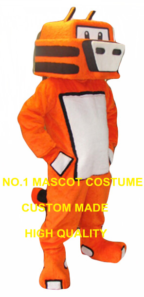 Robot tigre mascotte costume adulte taille dessin animé chat tigre thème anime cosplay costumes carnaval déguisements kits 2912