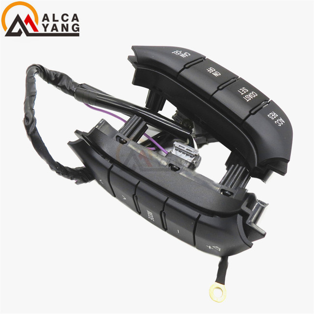 Malcayang Steering Wheel Audio Control Switch Button 84250-PJL For Mistubishi Toyota Pajero 2007-2016
