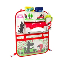 Folding Baby Stroller Bag Organizer Infant Baby Car Hanging Basket Storage Stroller Accessories With Functional Insulation Bag cartoon multifunctional waterproof baby stroller bag baby universal hanging basket car seat storage bag stroller accessories