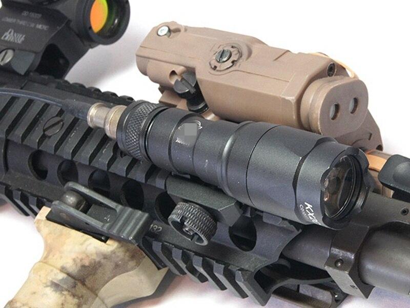 de Caça Militar Rifle Softairô Arma Lâmpada LED Arma Luz