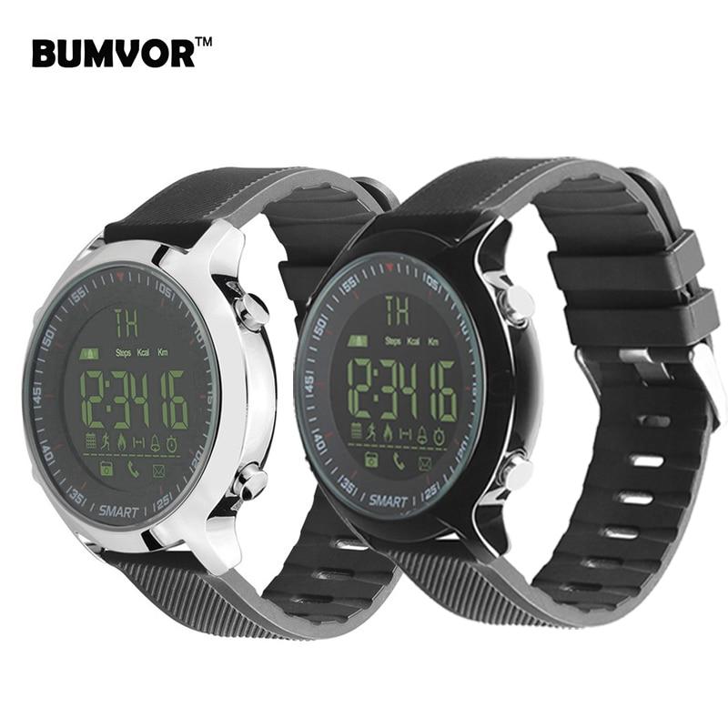 BUMVOR IP67 Waterproof EX18 Smart Watch Support Call and SMS alert Pedometer Sports Activities Tracker Women Men Smart bracelet