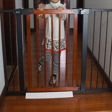 Boa qualidade Portão cerca bebê portão criança escada portão barreira portão de proteção animal de estimação