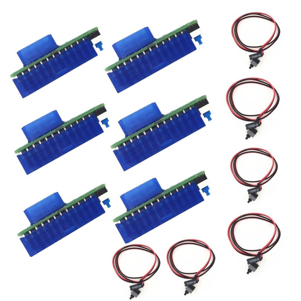 naujausia versija Drop Shipping Dual Triple maitinimo adapterio jungties relės adapterio sąsaja Keli pridėti2PSU (įskaičiuoti pradinę liniją)
