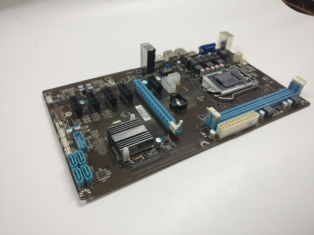 ETH miner motherboard new support 6 graphics card instead TB85 TB250 motherboard suitable for ETH miner RX470 RX480 RX570 RX580. 3