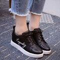2016 Superstar Moda Sapato Feminino Mujer Zapatos Blancos Zapatos Casuales Del Todo-Fósforo Transpirable Zapatos Mujer Chaussure Femme X035