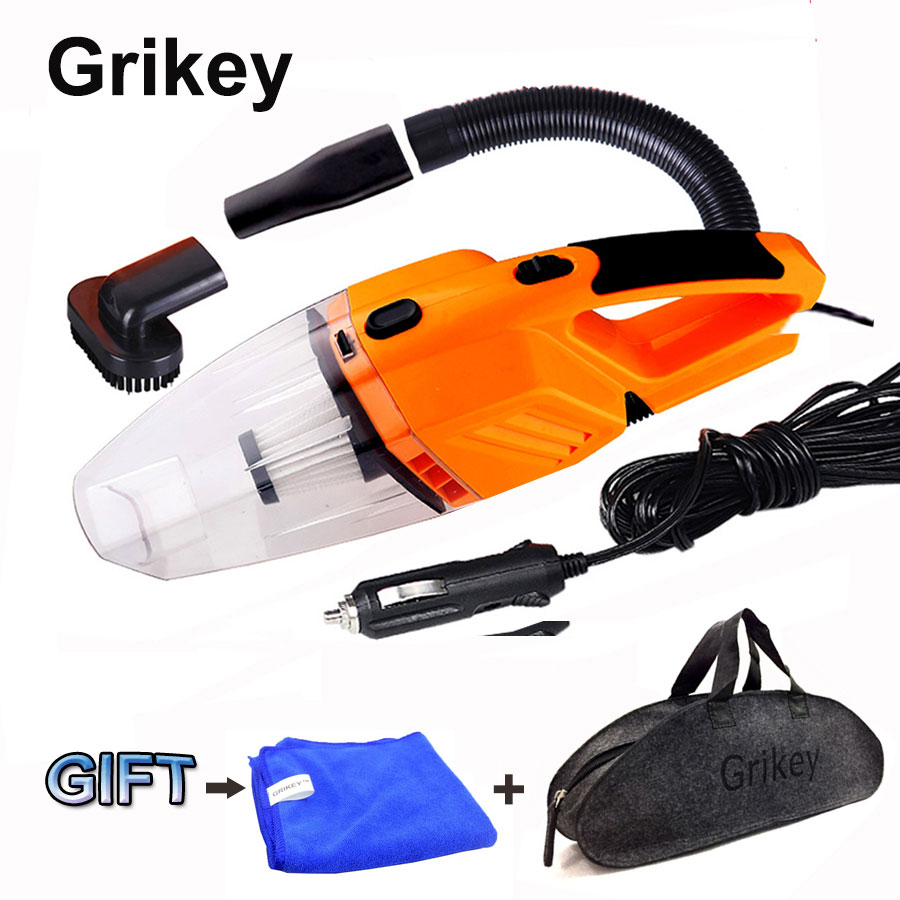Car Vacuum Cleaner 120W Portable Handheld Vacuum Cleaner Auto Wet Dry Car Vacuum Hand Vac HEPA