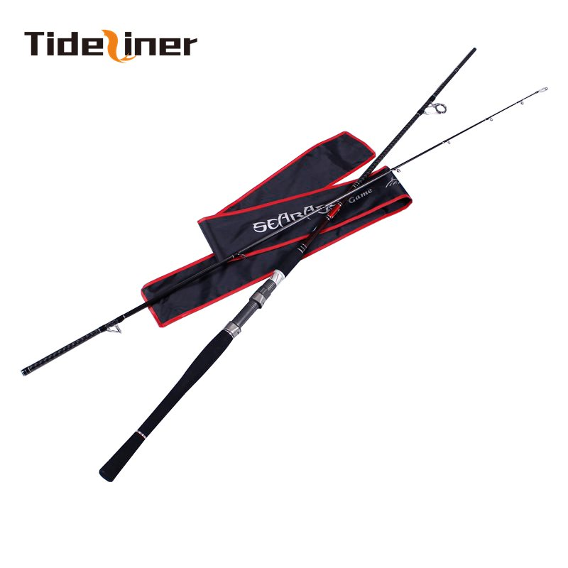 Tideliner spinning fishing rod 2 4m 2 7m sea bass rod carbon fiber fishing rod pole
