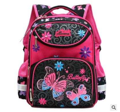 Sacos de Escola para Meninas Schoolbag 4 Pcs Set Anti-roubo