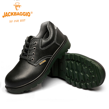 Fashion Puncture Proof mens work shoes ,Anti-slip and Anti-pressure safety boot ,Breathable black Business Shoes for mens.