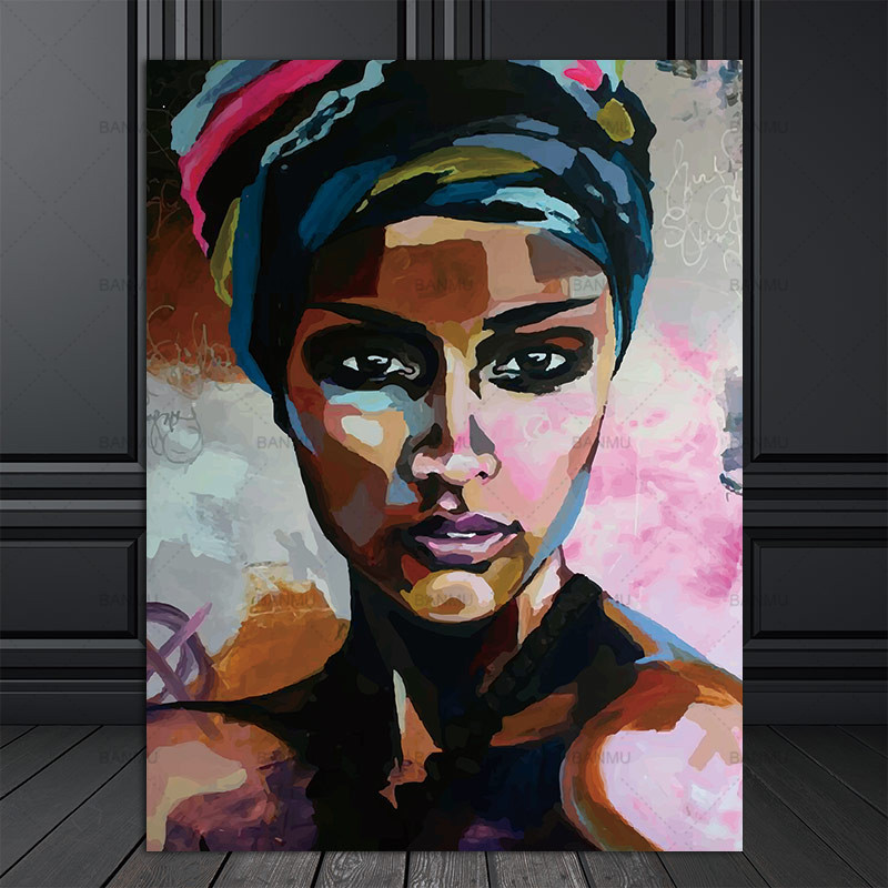 HTB1rwJYqKuSBuNjSsplq6ze8pXaX canvas painting figure Picture wall art Picture portrait home decor painting abstract women picuture art poster and prints