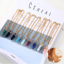 AILEND Opal Anklet Bracelet 2019 Ladies New Natural Crystal Stone Pendant Anklet Bracelet Bohemian Legs, Elder Gifts(China)