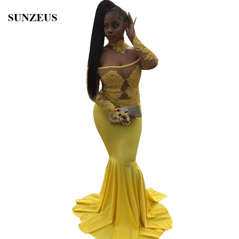12a756292297d Buy long sleeve long dress prom night and get free shipping on ...