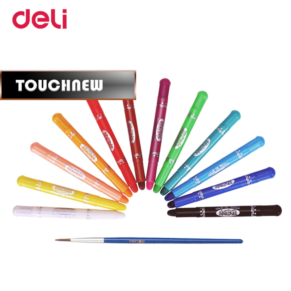 sale non-toxic 12/18/24 colors water soluble oil pastel set crayon school painting quality art drawing supplies WJ-SMTG204 grasp crayon 36 colors rotating water soluble oil painting sticks can be washed non toxic brush crayons effect of watercolor