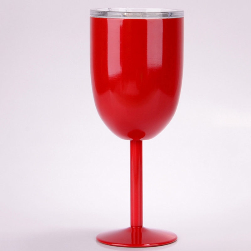 Christmas Egg Shaped Wine Glasses Mug Bottle Thermo Mug Vacuum Flask Thermos Bottles Red Wine Goblet Steel Cocktail Coffee Cup in Vacuum Flasks Thermoses from Home Garden