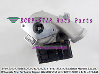 Turbo BV40 53039880373 53039700373 53039700341 53039880341 53039700231 14411 3XN3A 14411 3XN1A turbine For Nissan Murano 2.5