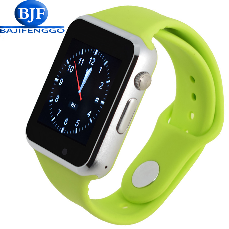 imágenes para T2 smart watch para el teléfono android soporte sim tf deporte podómetro bluetooth pulsar para xiao mi teléfono niños dz09 gv18 gt08 gt88