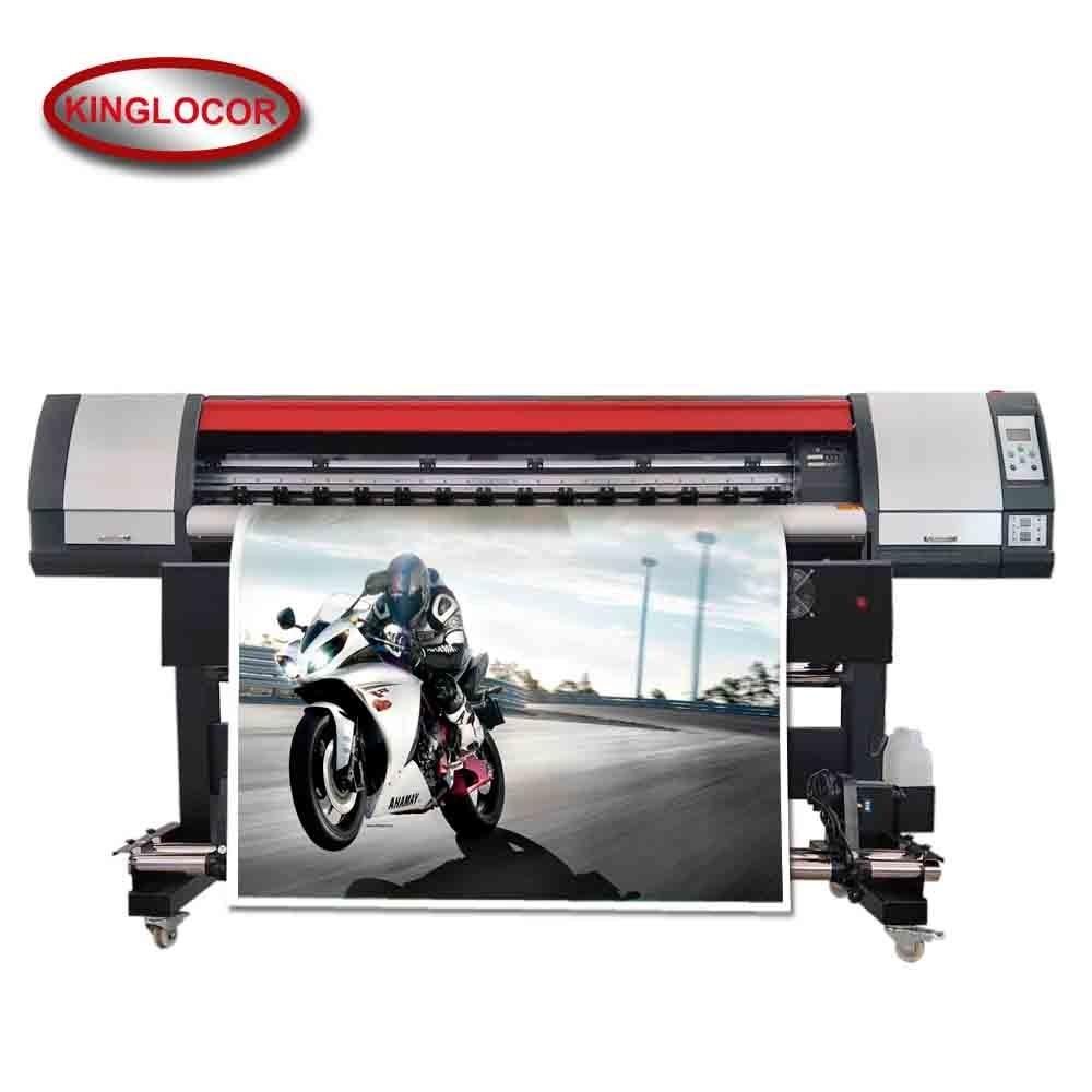 18 5sqm h high speed digital outddor printer 180cm one xp600 head vinyl sticker solvent printing machine for label paper
