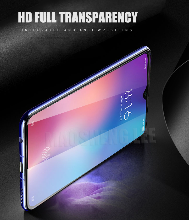 Image 3 - 2Pcs/lot Tempered Glass For Xiaomi Mi 9 SE Mi9 Pro Glass Screen Protector Anti Blu ray Glass For Xiaomi mi 9 se Protective film-in Phone Screen Protectors from Cellphones & Telecommunications
