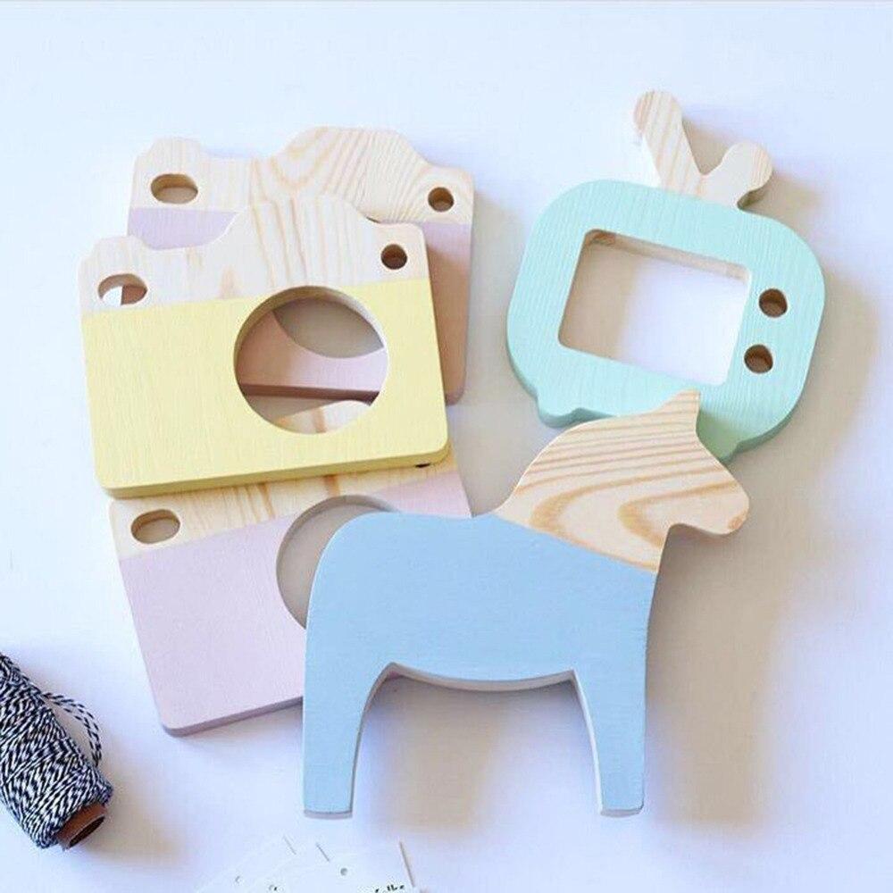 NAI YUE Dekoration Handwerk Statue Holz TV Set Spielzeug Modellierung Decor  Kreative Kinder Kinderzimmer Dekoration Spielzeug Requisiten Geschenk In  NAI YUE ...