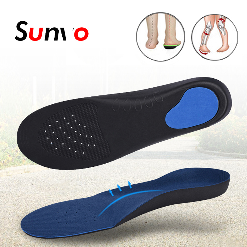 Foot Flatfoot Pad Balance Damping Arch Mat Support Shoe Care Insoles Unisex LD