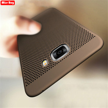Breathable Phone Case For Samsung galaxy A9 A7 A3 2016 2017 S10 Lite A8 A6 Plus J4 J6 J8 J2 Pro 2018 Note 9 Cooling Summer Cover