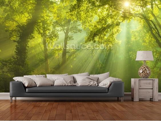 Custom natural wallpaper.The Forest of Heaven,3D landscape mural for living room bedroom restaurant wall Embossed wallpaper eye of heaven